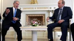 Нетаняху отива с топ генералите си на среща с Путин в Москва