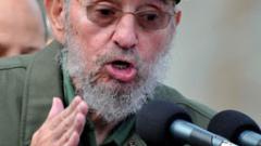 Фидел Кастро пламенно защити Москва