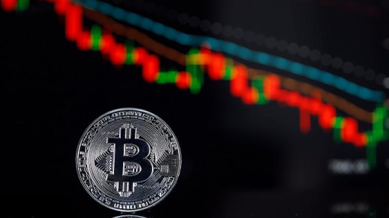 Bitcoin удари ново дъно - под $3500