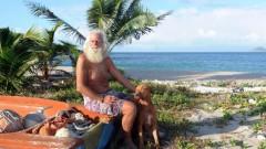 Бившият милионер, който от 23 години живее на отдалечен остров