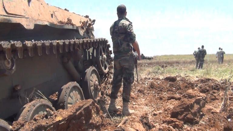 Сирийската армия е освободила от терористи четири села в южната