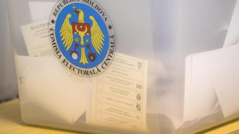Избирателната активност на местния вот в Молдова надхвърли 40%