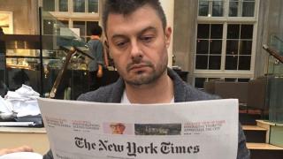 """Бареков се хвали с """"импрувнат"""" английски, но вбесен отказва да превежда в ефир"""