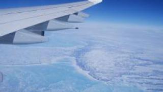 Откриха нов Гранд каньон в ледовете на Гренландия