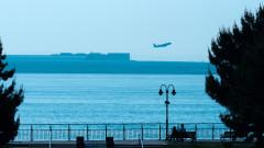 Европейски интерес за летището в морето край Израел