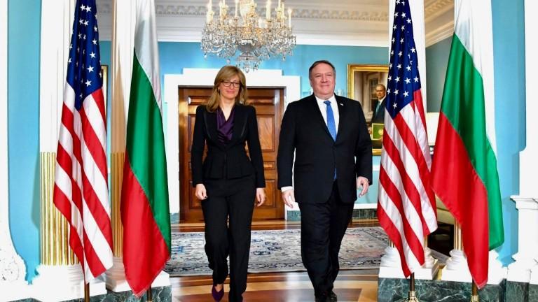"""България поздрави САЩ за участието им с 300 млн. долара в """"Три морета"""""""