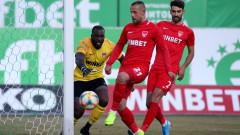 Царско село поглежда към плейофите за Лига Европа след стратегически успех над Етър