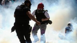 Турската полиция разгони протестиращи студенти в Анкара