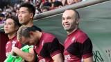 Иниеста: Меси може да прави във футбола каквото поиска, докогато поиска