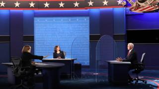 Основни моменти от дебата Харис-Пенс и един неканен гост