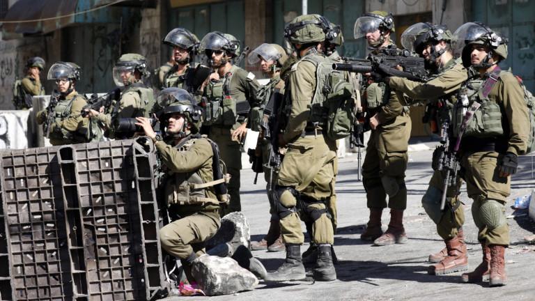 Израелски сили убиха палестински тийнейджър в акция на Западния бряг