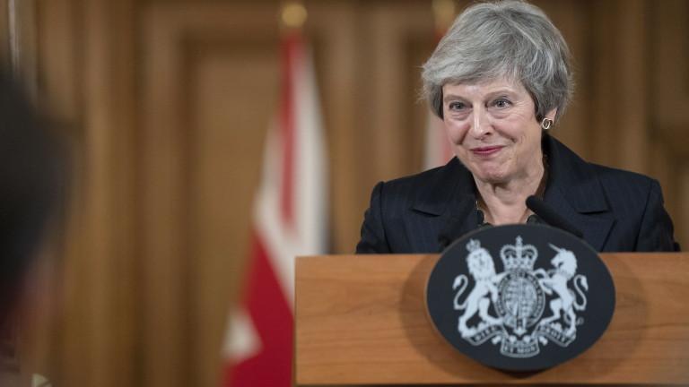 Мей отново изключва втори референдум за Брекзит