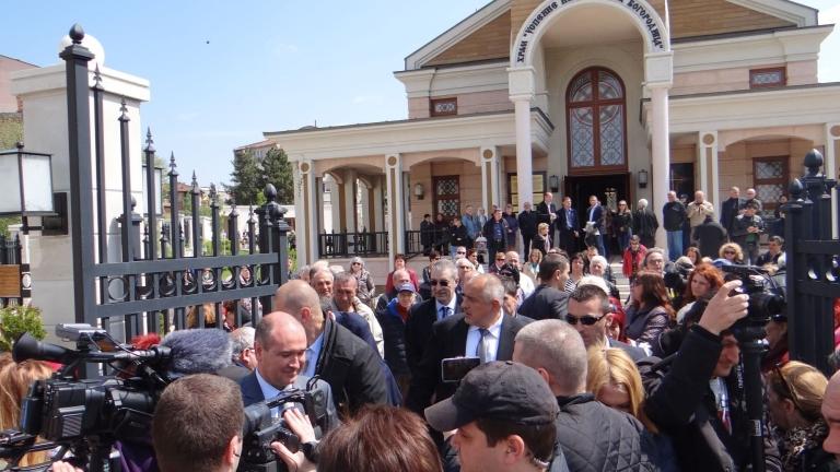 Борисов почете освещаването на нов православен храм в Ямбол