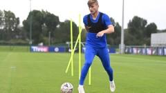 Тимо Вернер проведе първа тренировка с Челси