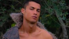 Кристиано Роналдо възбуди интернет с еротична снимка