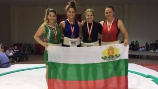 Цели 13 медала за българското сумо от Евро 2017!