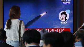 КНДР изстреля две ракети към Японско море