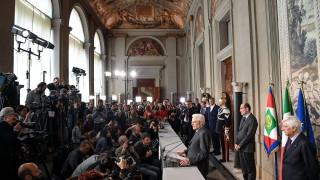 Президентът на Италия против предсрочни избори през юни