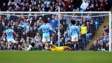 Манчестър Сити окупира върха във Висшата лига