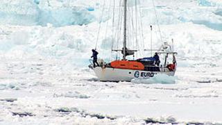 Варненец стигна до Антарктида с яхта