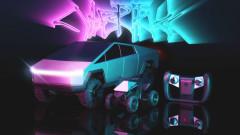Tesla пуска колекционерски Cybertruck на дистанционно