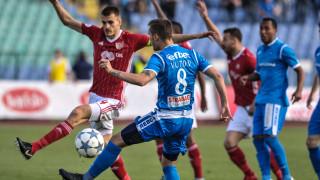 ЦСКА - Левски 2:2, червени картони за Буш и Жеферсон!