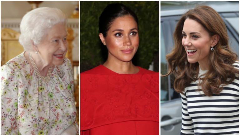 С Меган или с Кейт си е по-близка кралицата