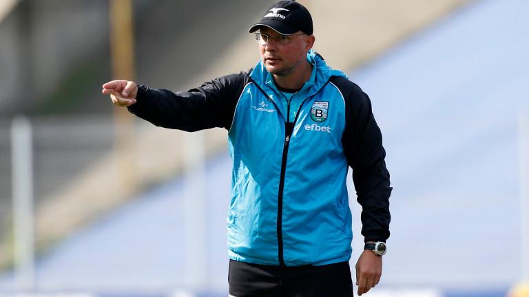 Треньорът на Витоша (Бистрица) Асен Букарев говори преди мача на