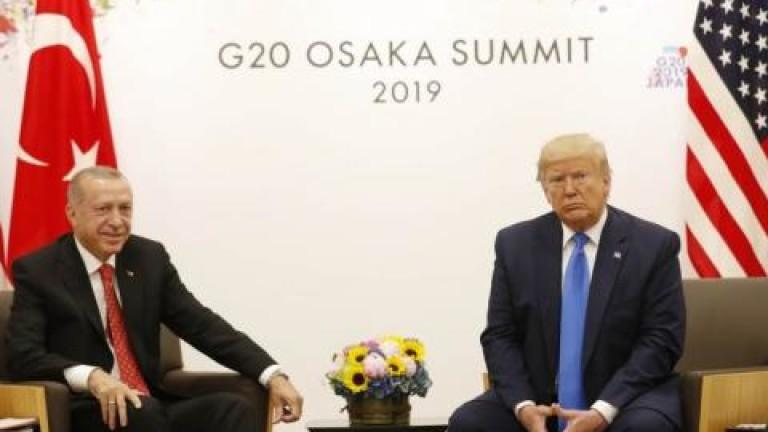 Засега САЩ няма да налага санкции на Турция заради С-400