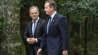 Туск: Камерън лично ми каза, че либералдемократите ще блокират референдум за Брекзит