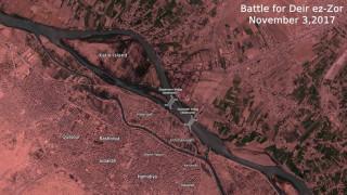 """Руски бомбардировачи удариха военни складове на """"Ислямска държава"""" в Сирия"""