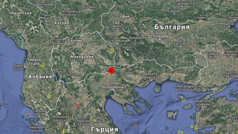 Ново земетресение в Гърция. По информация на Европейския сеизмологичен институт