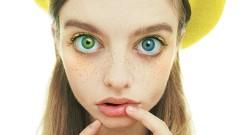 Момичето с най-големите очи в света