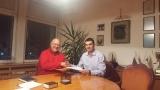 """Корпорация """"Развитие"""" и Българската федерация по волейбол подписаха договора за Скаут лигата"""