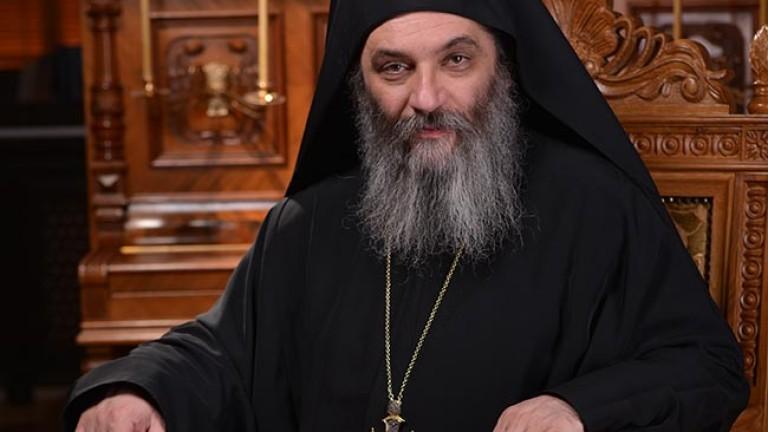 Игуменът на Бигорския манастир в Македония - архимандрит Партений, е