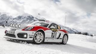 Porsche се завръща в рали състезанията със 718 Cayman GT4