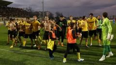 Ботев (Пд) с група от 18 футболисти срещу Етър
