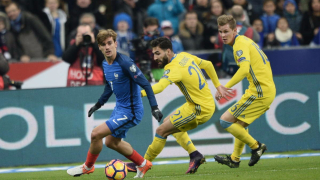 Франция - Швеция 2:1 (Развой на срещата по минути)