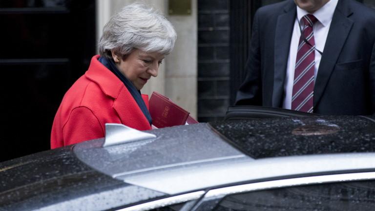 Мей: Ако парламентът отхвърли сделката за Брекзит, напускаме ЕС без споразумение