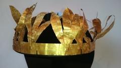 НИМ получи уникален златен тракийски венец от I век преди Христа