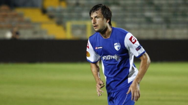 Дарко Тасевски от няколко дни тренира с новия си отбор