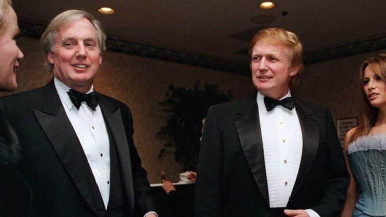 Робърт Тръмп, по-малкият брат на президента Доналд Тръмп, е хоспитализиран