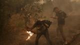 Над 1000 електрически стълба са повредени в огнения ад на Атика