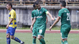 Лудогорец - Вакер, Кешеру бележи за 1:0