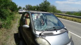 Двама македонци пострадаха при катастрофа край Благоевград