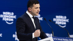 Украйна има амбиция да стане лидер на Централна и Източна Европа, обяви Зеленски в Давос