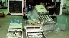 Задържаха 4850 кутии цигари, скрити в климатици