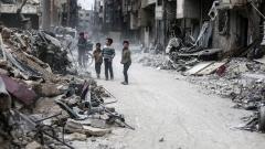 Водената от САЩ коалиция с нов удар по проправителствените сили в Сирия