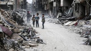Касетъчни бомби сеят смърт на цивилни в Сирия
