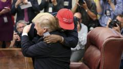 Какво прави Кание Уест в Белия дом